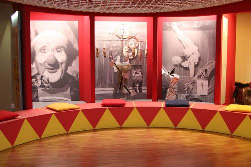 Muzeum české loutky a cirkusu v Prachaticích.